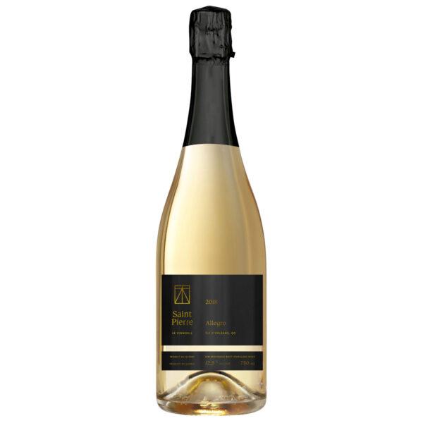 Vin du Québec -Vin mousseaux -Allegro 2018